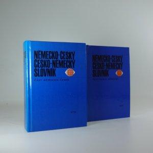 náhled knihy - Německo-český a Česko-německý slovník (2 svazky - Německo-česká a Česko-německá část)