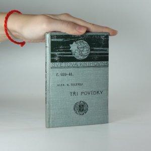 náhled knihy - Tři povídky (Týden v Tureněvě, Aggěj Korovin, Závolží)