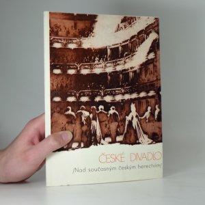 náhled knihy - Nad současným českým herectvím