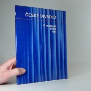 náhled knihy - O současné české režii. Sv. 1