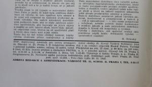 antikvární kniha Typ 3, ročník 19 - březen 1949, 1949