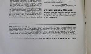 antikvární kniha Typ 1, ročník 19 - leden 1949, 1949