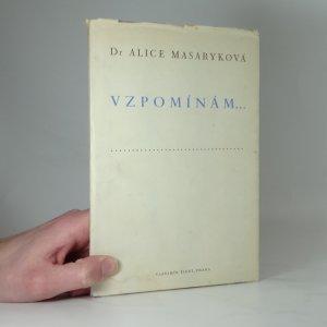 náhled knihy - Vzpomínám...