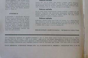 antikvární kniha Typ 10, ročník 17 - říjen 1947, 1947