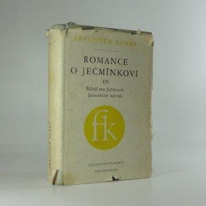 náhled knihy - Romance o Ječmínkovi I/II: Říkali mu Ječmínek, Ječmínkův návrat