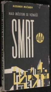 náhled knihy - Nad městem se vznáší smrt