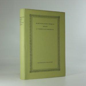 náhled knihy - Básně a veršovaná dramata