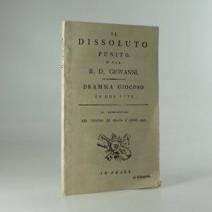 náhled knihy - Il Dissoluto Punito o sia Il d. Giovanni