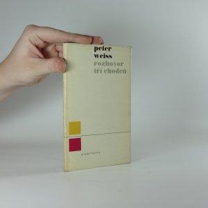náhled knihy - Rozhovor tří chodců