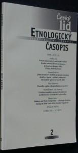 náhled knihy - Etnologický časopis 2; r. 102