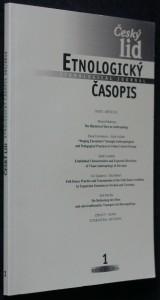 náhled knihy - Etnologický časopis 1; r. 101