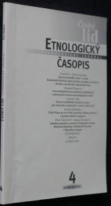náhled knihy - Etnologický časopis 4; r. 92