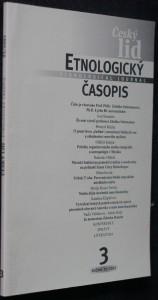 náhled knihy - Etnologický časopis 3; r. 92