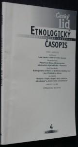 náhled knihy - Etnologický časopis 4; r. 97