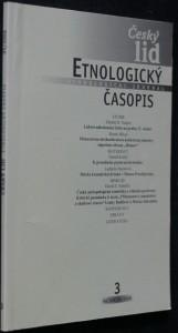 náhled knihy - Etnologický časopis 3; r. 95