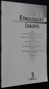 náhled knihy - Etnologický časopis 3; r. 93