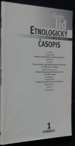 náhled knihy - Etnologický časopis 1; r. 94