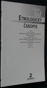 náhled knihy - Etnologický časopis 2; r. 94