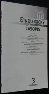náhled knihy - Etnologický časopis 3; r. 94