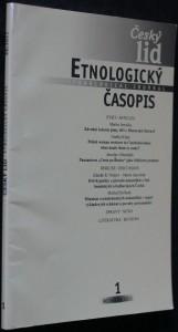 náhled knihy - Etnologický časopis 1; r. 98