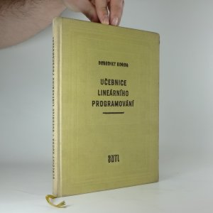 náhled knihy - Učebnice lineárního programování : Učeb. pro vys. školy