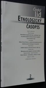 náhled knihy - Etnologický časopis 2; r. 98