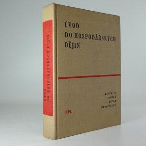 náhled knihy - Úvod do hospodářských dějin