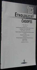 náhled knihy - Etnologický časopis 4; r. 98