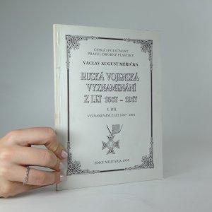 náhled knihy - Ruská vojenská vyznamenání z let 1687-1917. I. díl