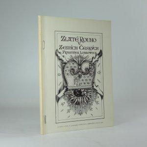 náhled knihy - Zlaté rouno v zemích Českých