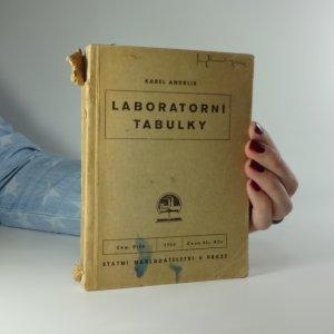 náhled knihy - Laboratorní tabulky