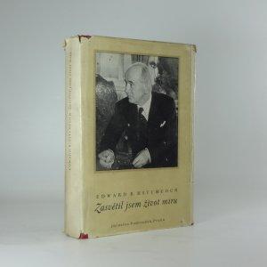 náhled knihy - Zasvětil jsem život míru