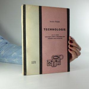 náhled knihy - Technologie pro 3. ročník odborných učilišť a učňovských škol učebního oboru konzervář