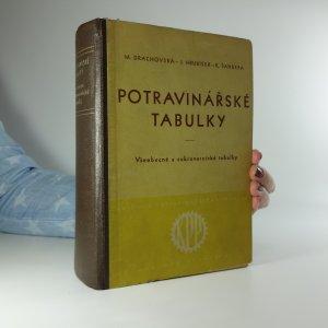 náhled knihy - Potravinářské tabulky