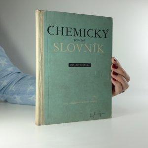 náhled knihy - Chemický příruční slovník