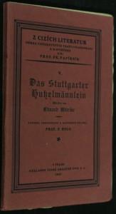 náhled knihy - Das Stuttgarter Hutzelmännlein : Märchen