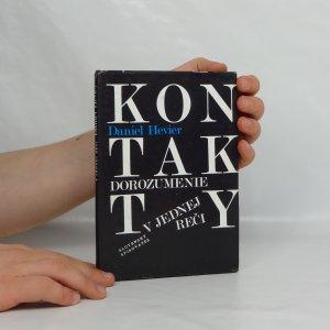 náhled knihy - Dorozumenie v jednej reči : (Desať slovenských básnikov)