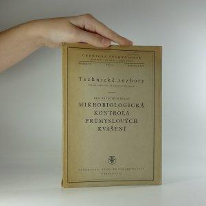 náhled knihy - Chemická technologie (svazek VI. díl II. kapitola XII.) - Mikrobiologická kontrola průmyslových kvašení