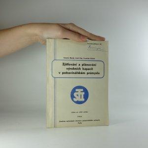 náhled knihy - Zjišťování a plánování výrobních kapacit v potravinářském průmyslu