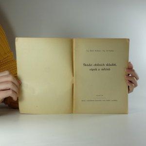 antikvární kniha Škůdci obilních skladišť, sýpek a mlýnů, 1951