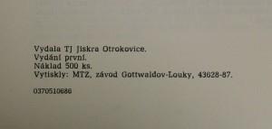 antikvární kniha 50 let házené v Otrokovicích : 1935-1985, 1987