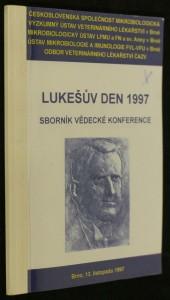 náhled knihy - Lukešův den 1997 sborník vědecké konference