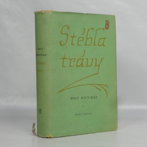 náhled knihy - Stébla trávy : výbor poesie a prózy