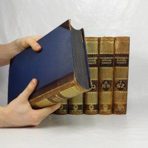 antikvární kniha Masarykův slovník naučný: lidová encyklopedie všeobecných vědomostí (komplet, 7 svazků), 1925-1933