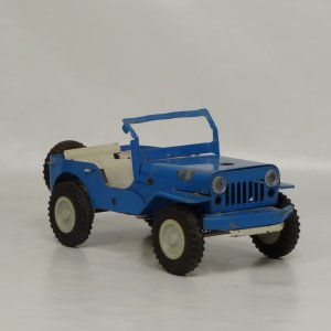 náhled knihy - Starý plechový Jeep
