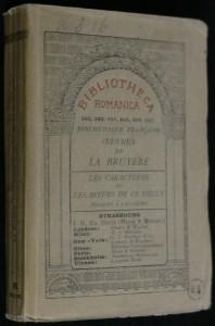 náhled knihy - Les caractéres ou les moeurs de ce siécle