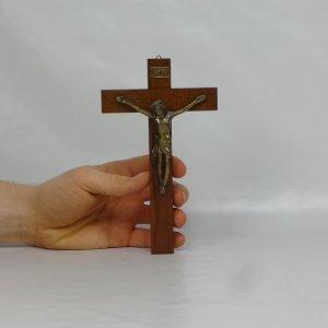 náhled knihy - nástěnný křížek, 17 cm