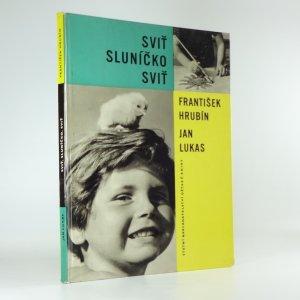 náhled knihy - Sviť sluníčko, sviť
