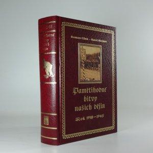 náhled knihy - Pamětihodné bitvy našich dějin, rok 1918 až 1945