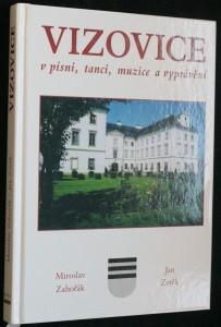 náhled knihy - Vizovice v písni, tanci, muzice a vyprávění